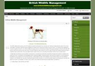 British Wildlife Management